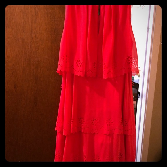 Jessica Simpson Dresses & Skirts - Cute loose Jessica Simpson  coral dress!